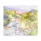 Along the River Prints by Jane Slivka