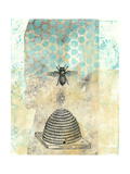 Vintage Beekeeper II Reproduction giclée Premium par Naomi McCavitt