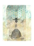 Vintage Beekeeper II Posters by Naomi McCavitt