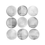 Soft Circles I Premium Giclee Print by Grace Popp