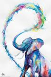 Marc Allante- Elephant Posters van Marc Allante