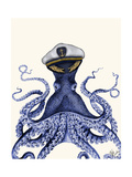 Captain Octopus Poster von Fab Funky
