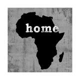 África Lámina giclée por Luke Wilson