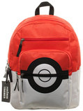 Pokemon Pokeball Backpack with Charm Backpack