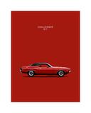 Dodge Challenger R-T 1970 Giclée-Druck von Mark Rogan