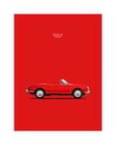 Alfa Romeo Giulia Spider 1964 Giclee Print by Mark Rogan