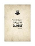 Darth Vader Impressão giclée por Mark Rogan