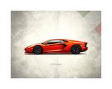 Lamborghini Aventador Giclee Print by Mark Rogan