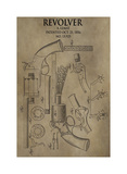 Revolver. 1856 Giclee Print by Dan Sproul