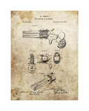 Revolving Fire Arms, 1874 Giclee Print by Dan Sproul