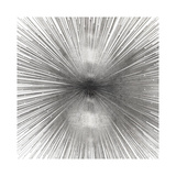 Radiant Silver Giclée-tryk af Abby Young