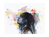 The Layers Within Stretched Canvas Print by Agnes Cecile