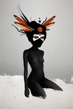 Dreamcatcher Kunstdruck von Ruben Ireland
