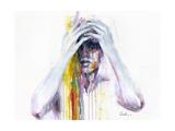 Wash Away Plakater af Agnes Cecile