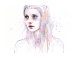 Unsaid Things Poster von Agnes Cecile