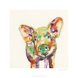 Hi Fi Farm Animals IV Limited Edition by Jennifer Goldberger