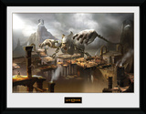 God Of War - Concept Art Canyon Samletrykk