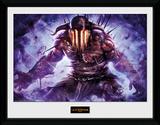 God Of War - Hades Reproduction encadrée pour collectionneurs