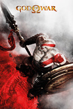 God Of War- Kratos Key Art Kunstdrucke