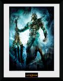 God Of War - Poseidon Reproduction encadrée pour collectionneurs