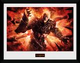 God Of War - Ares Reproduction encadrée pour collectionneurs