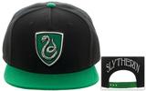 Harry Potter- Slytherin Shield Logo Snapback Hat