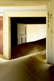 Abandoned House Full of Sand. Kolmanskop Ghost Town, Namib Desert Namibia, October 2013 Photographic Print by Enrique Lopez-Tapia