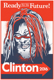 G. Clinton 2016 (Red, White & Blue Signboard) Fotografia