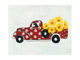 Modern Americana Farm VI Premium Giclee Print by Melissa Averinos