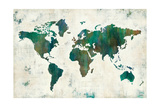 Discover the World Premium Giclee Print by Melissa Averinos