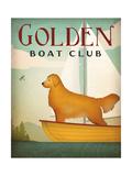 Golden Sail Premium Giclee Print by Ryan Fowler