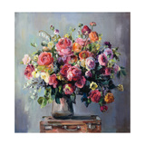Abundant Bouquet Art by Marilyn Hageman