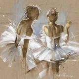 White Dress II Giclée-tryk af Kitty Meijering