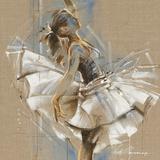 White Dress III Giclée-tryk af Kitty Meijering