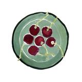 Bowl of Cherries Impressão giclée por Megan Moore