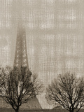 Eiffel In The Fog Posters by Golie Miamee
