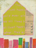 Happy Home In Yellow ポスター : Julie Beyer