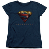 Womens: Supergirl- Radiant Shield T-shirts