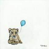 Nursery Lion Giclee Print by Britt Hallowell