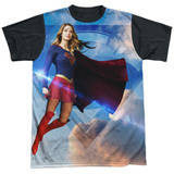 Supergirl- Endless Sky Black Back Sublimated