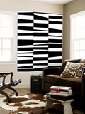 Monochrome Patterns 7 Wall Mural by Natasha Marie