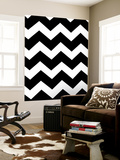 Monochrome Patterns 3 Wall Mural by Natasha Marie