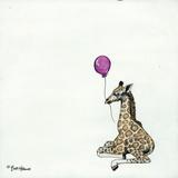 Nursery Giraffe Prints by Britt Hallowell