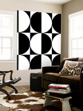 Monochrome Patterns 5 Wall Mural by Natasha Marie