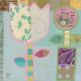 Two Flowers 高品質プリント : Julie Beyer