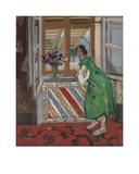 Jeune Fille a la Mauresque, Robe Verte Posters av Henri Matisse