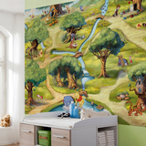 Winnie the Pooh - Hundred Acre Wood Wallpaper Mural