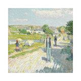 Late Afternoon, Gloucester, 1896 Premium Giclee Print by Frederick Childe Hassam