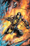 Mortal Kombat- Scorpion Comic アートポスター
