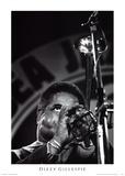 Dizzy Gillespie Poster von Vincent Mentzel